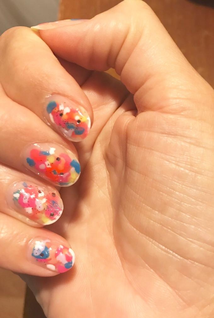 Nails: Negative Space. A PinterestWin.